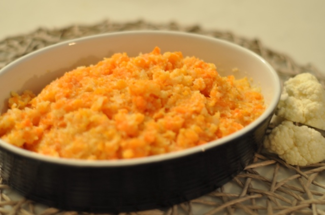 Carrot and Cauliflower Mash